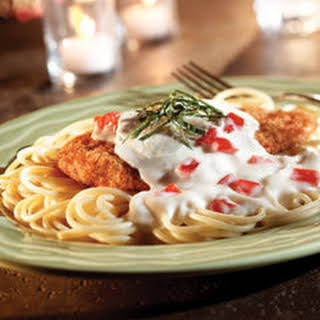 No-fry White Chicken Parmigiano.