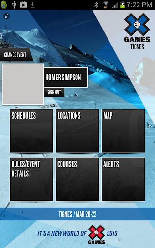 X Games - Athlete Reg Portal