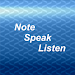 Note, Speak, Listen for Deaf Icon