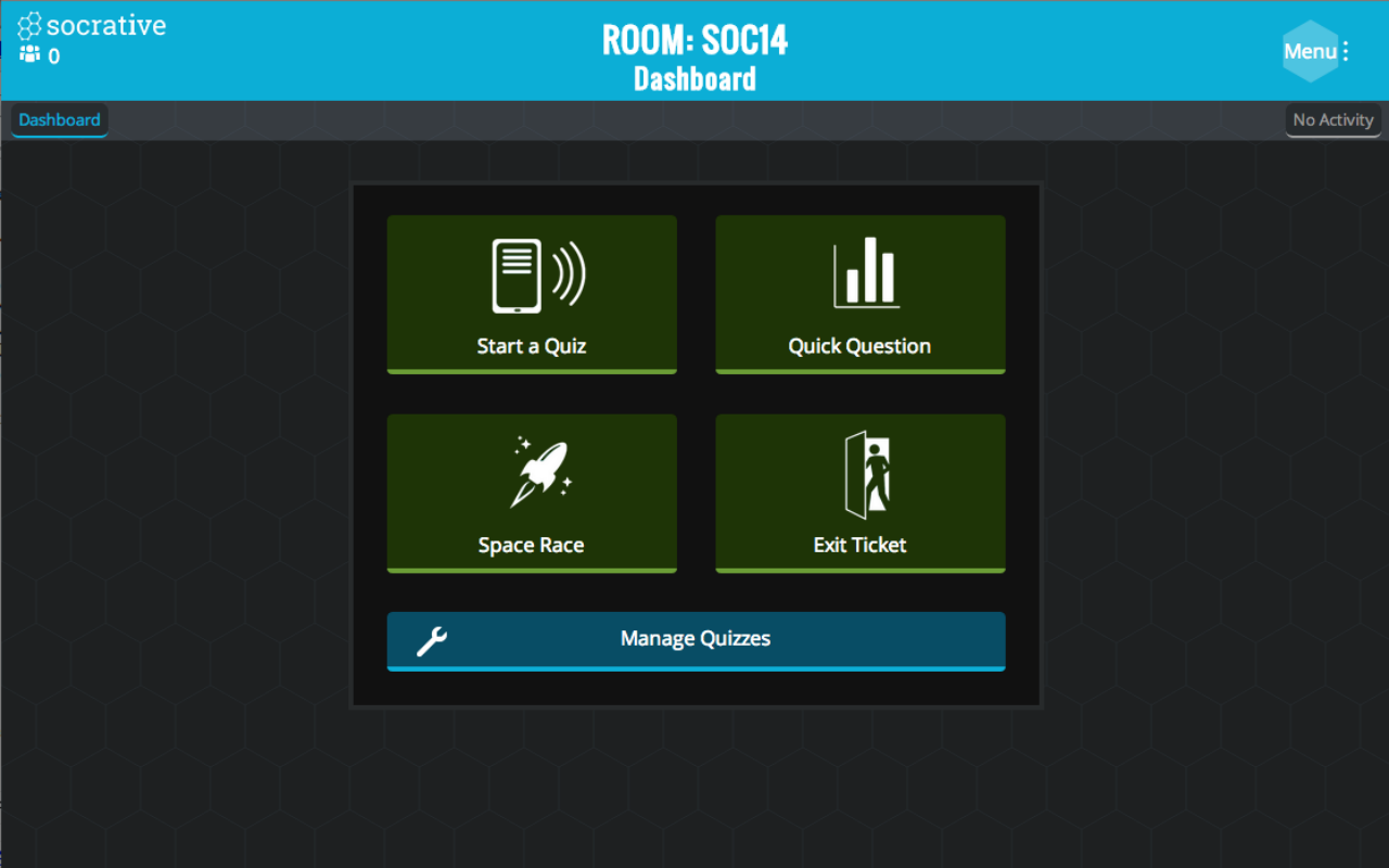 Socrative Teacher - screenshot