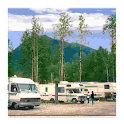 Free RV Campground and Parking icon