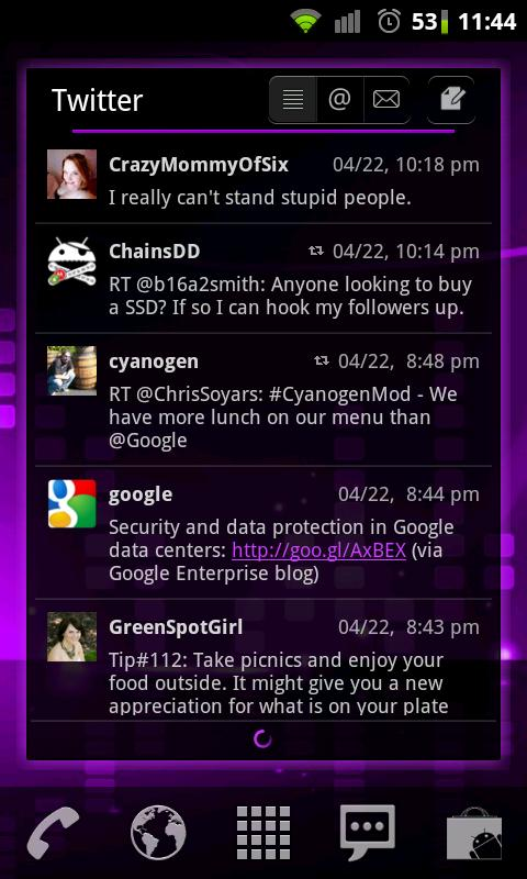 Purple Punch LPP / APW Theme - screenshot