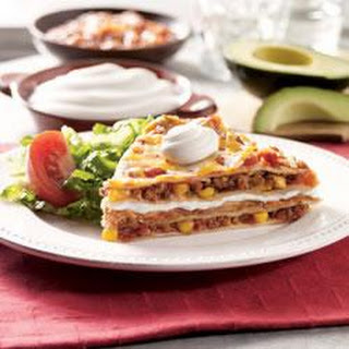 Mexican Lasagna by Daisy Brand.
