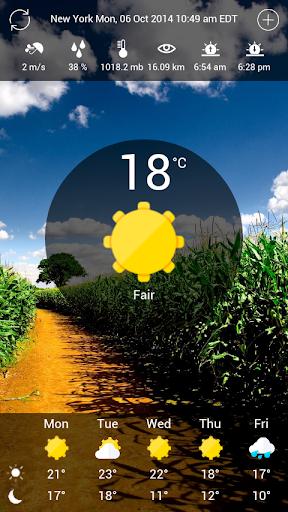 SunRain - weather