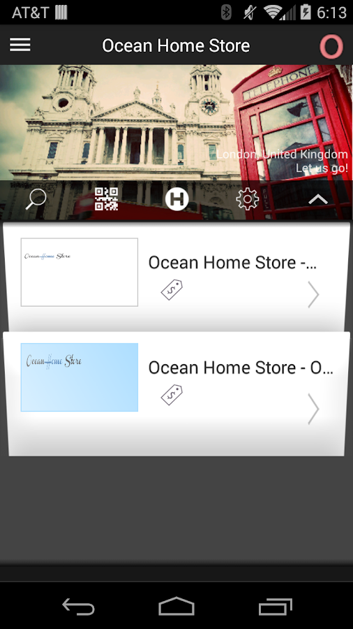 OceanHomeStore- screenshot
