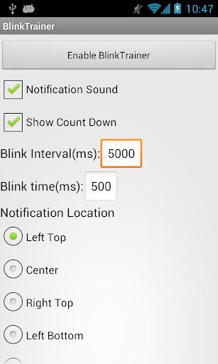 BlinkTrainer