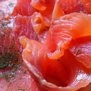 Salmon with Bacon & Orange