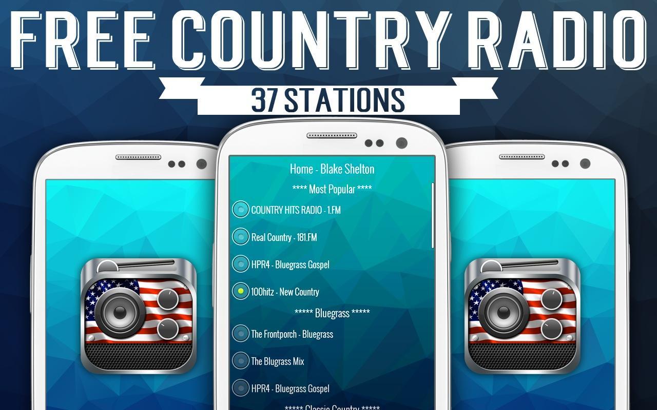 Free Country Radio - screenshot