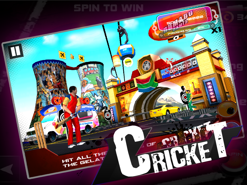 Cricket 3D- screenshot