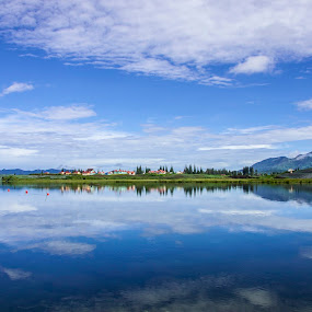 Twin Lakes by Zenith Halalan - Landscapes Travel ( canon, village, landscape, nikon, people, olympus )