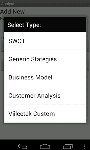 Analyst Demo  screenshots 8