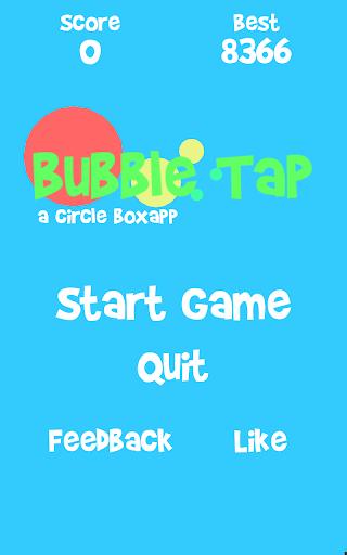 Bubble Tap - a circle boxapp