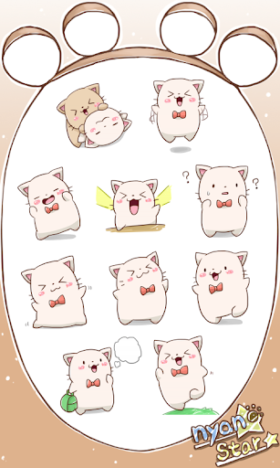 Nyan Star15 Emoticons new