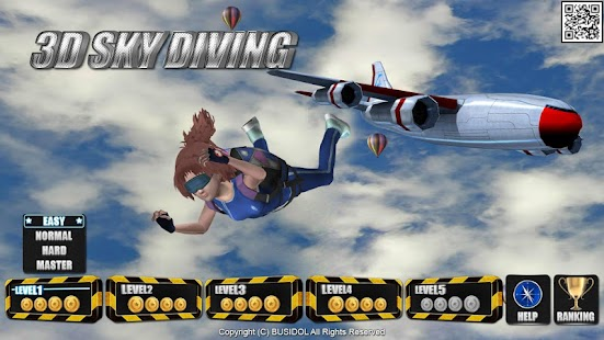 3D SkyDiving for Smart TV - screenshot thumbnail