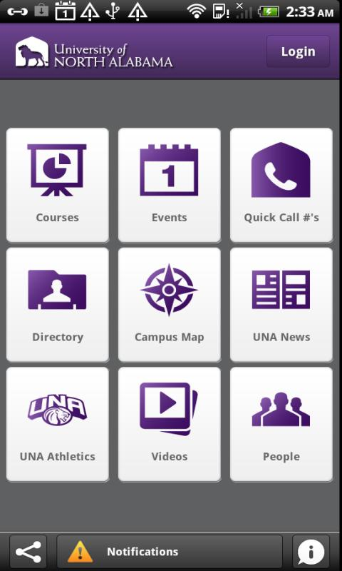 University of North Alabama - screenshot