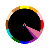 Chromachron Clock Widget