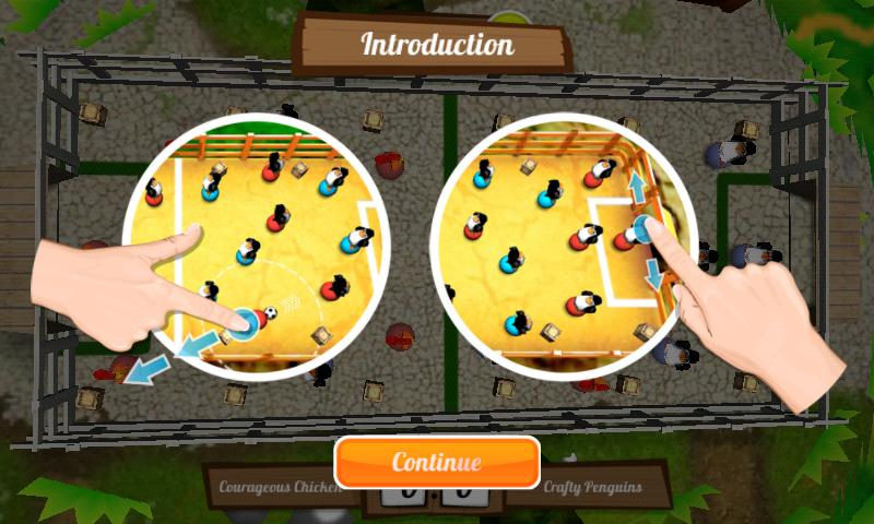 Get the Egg: Foosball (free)- screenshot