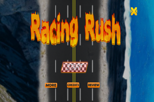 Racing Rush Racing Game