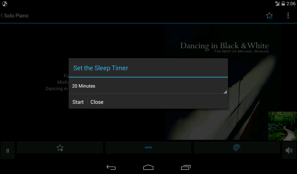 Calm Radio Multimix - Android - screenshot