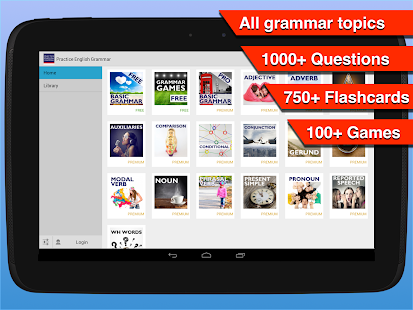 Practice English Grammar- screenshot thumbnail