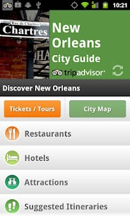 New Orleans City Guide - screenshot thumbnail