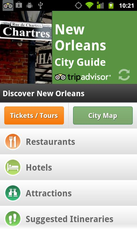 New Orleans City Guide - screenshot