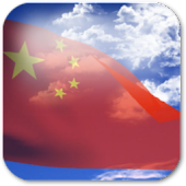 3D China Flag Live Wallpaper +