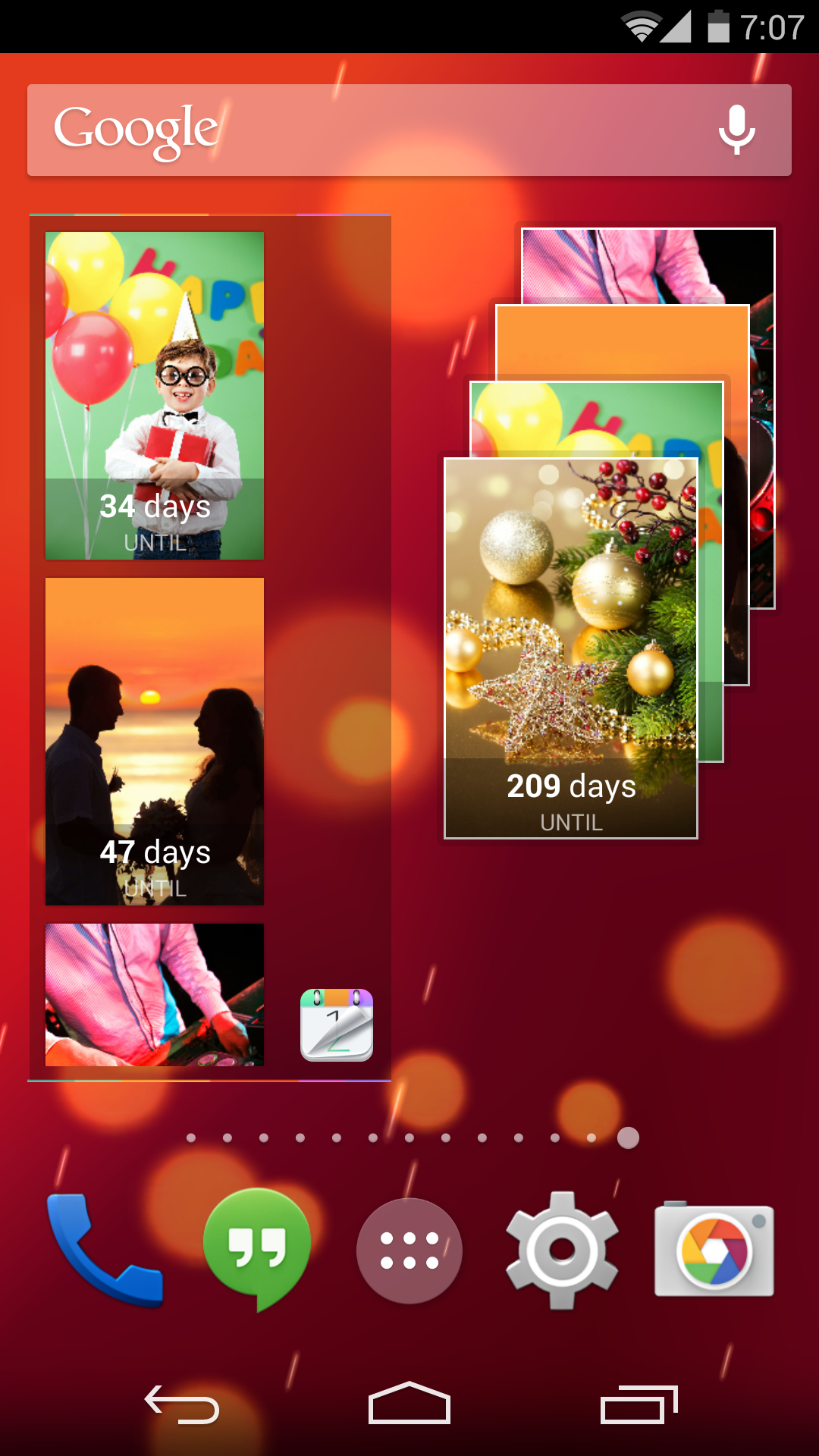 Countdown Plus Widgets Lite screenshot #7