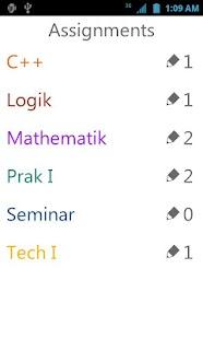 yasp! Class Schedule- screenshot thumbnail
