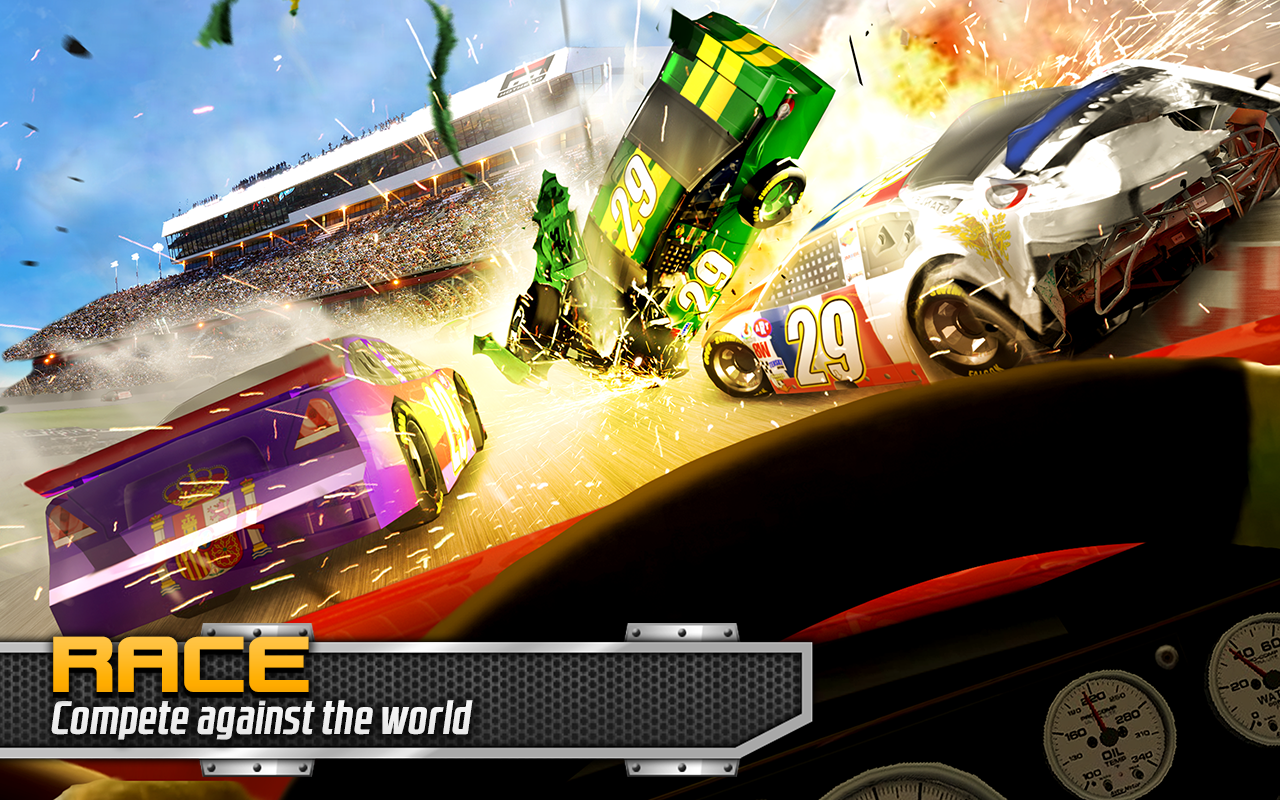 Screenshots of BIG WIN Racing for iPhone