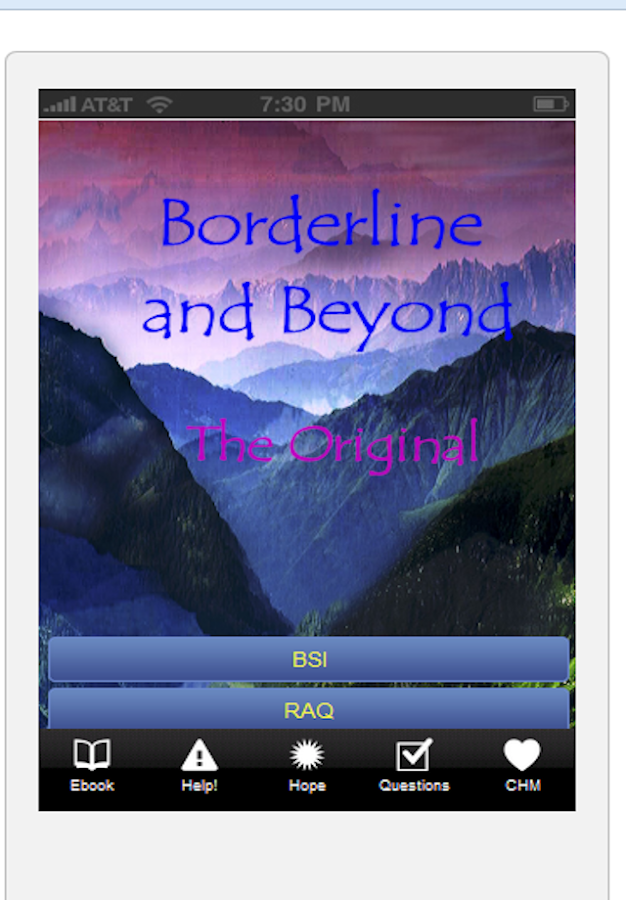 Borderline & Beyond- BPD Help- screenshot