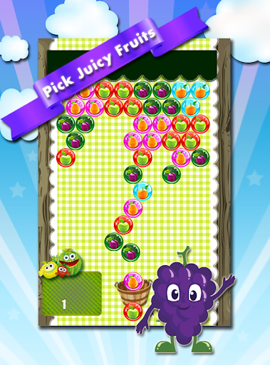 Bubble Shooter Game Fruit Hero