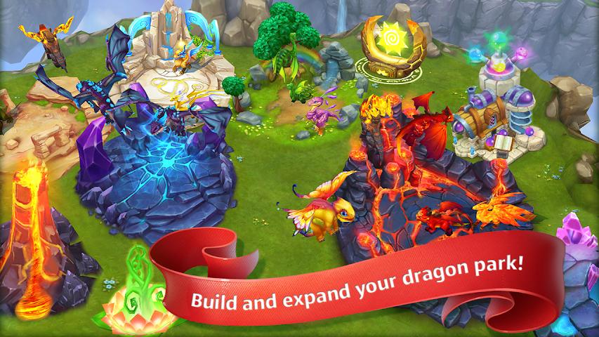 android Dragons World Screenshot 1