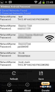 Wireless Android Password- screenshot thumbnail