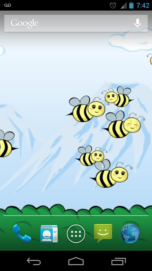 Bumbl Bees! Live Wallpaper - screenshot