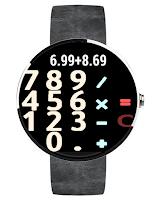 Screenshot of Calculator - Android Wear