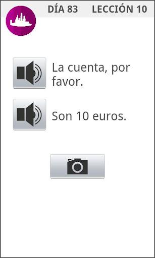 OK Español: Skanuj i słuchaj