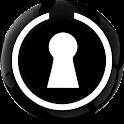 Lock FX White Go locker logo