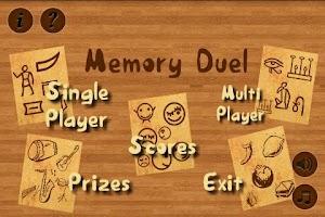 Screenshot of Memory Duel