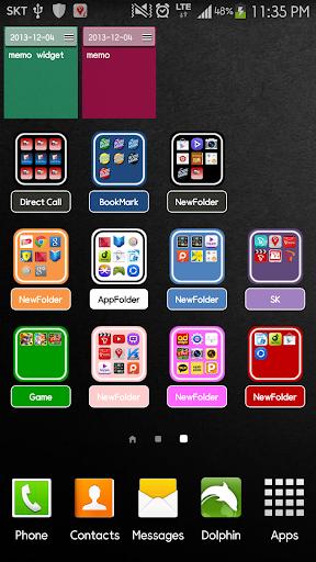 Widget App 文件夾2