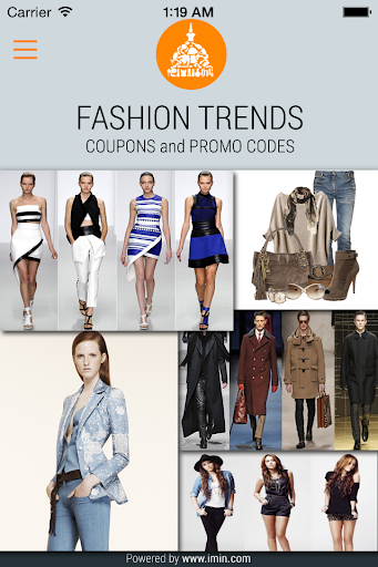 Fashion Trends Coupons-I'm In