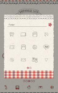 Shopper holic(Red check) Dodol screenshot 1