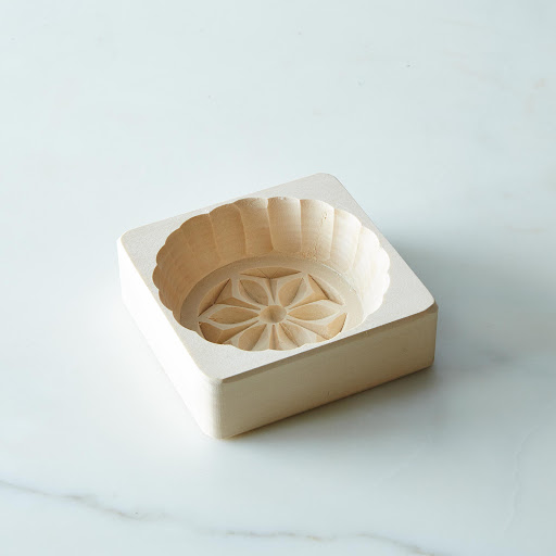 Wooden Circular Butter Mold