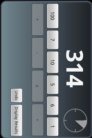 CountDown Calculation Lite - screenshot