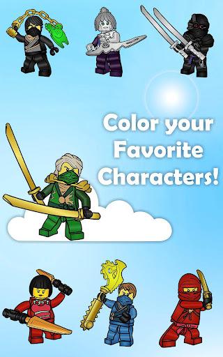Coloring Pages Lago Ninjago