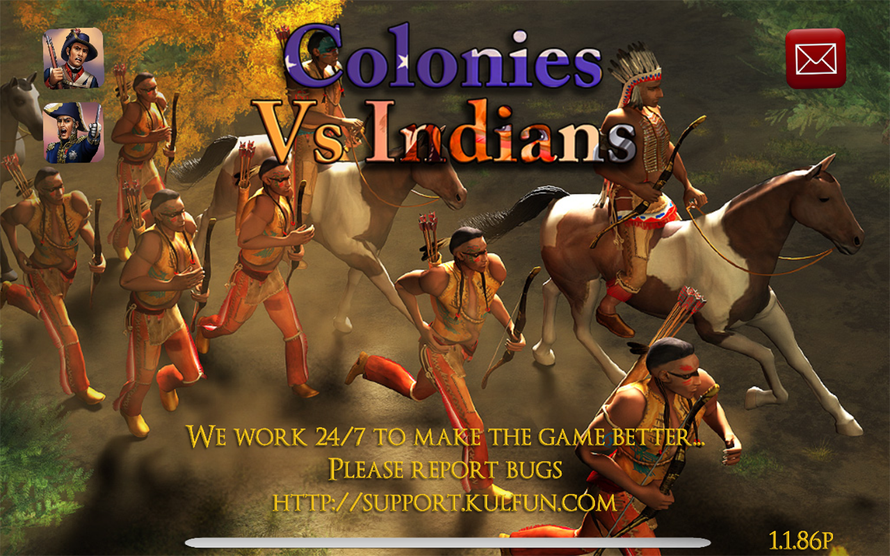 Colonies vs Indians- screenshot