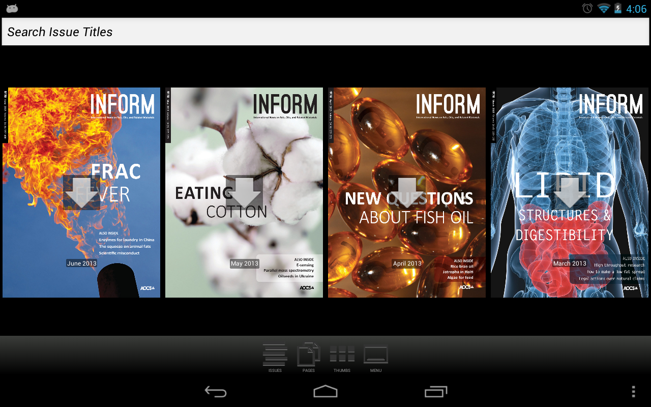 INFORM News Magazine - screenshot