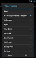 Screenshot of Ringtone Slicer & Maker Beta