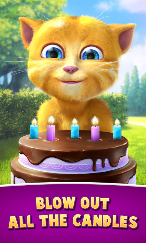 Ginger's Birthday - screenshot