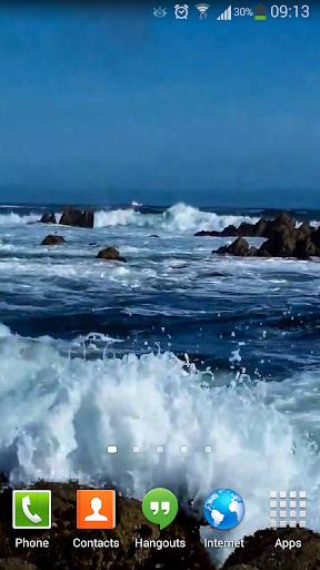 Ocean Waves - Live Wallpaper скачать на планшет Андроид